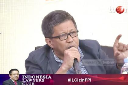 Rocky Gerung: Saya Tidak Pancasilais, Presiden Juga Nggak Ngerti Pancasila
