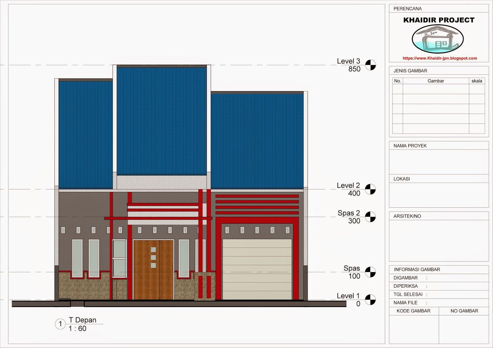 Mozaik Arsitek Desain Rumah Type 150 Pada Lahan 171 M2