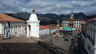Praça Tiradentes e Museu da Inconfidência