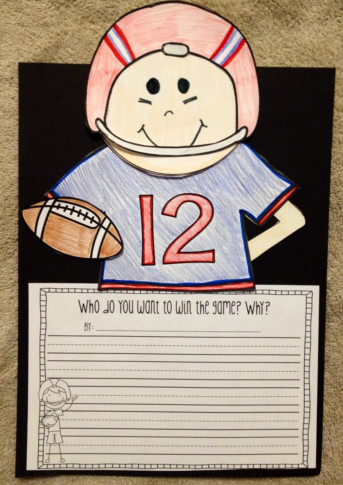 Susan Jones Teaching Football Writing Prompts And Craft