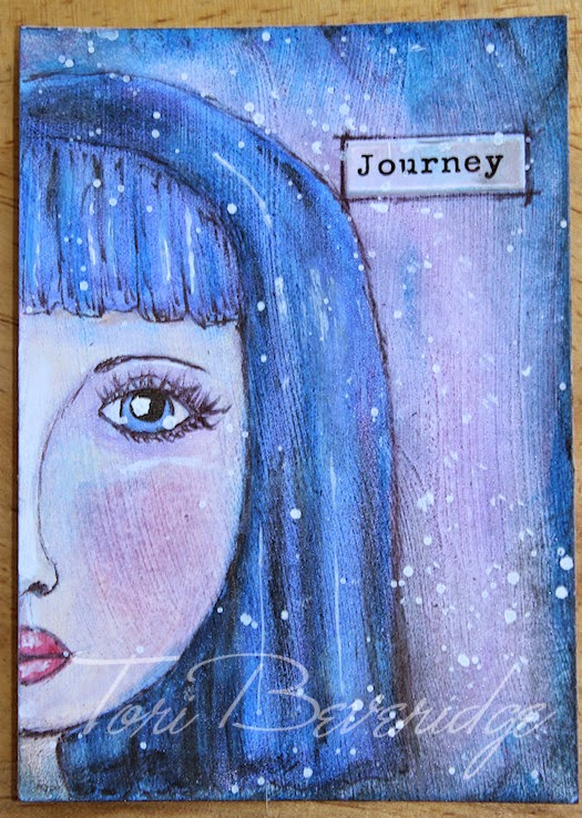Journey Half Face by Tori Beveridge