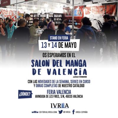 Ivréa en el Salón del Manga de Valencia 2017.