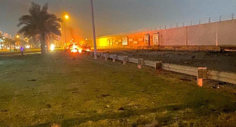 El torpe bombardeo de Trump al aeropuerto de #Bagdag, era para asesinar a general iraní #Soleimani