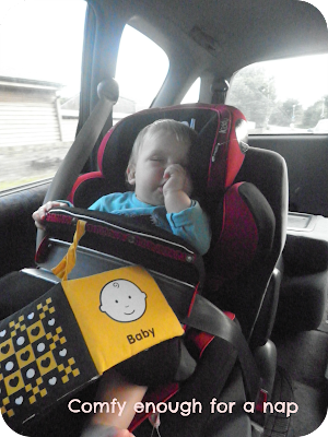 napping in car seat, kiddy phoenix pro