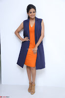 Priyamani in Beautiful Short Deep neck Orange Dress ~  Exclusive 48.JPG