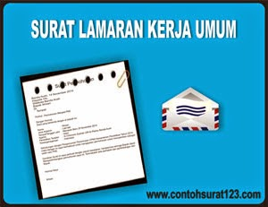 Gambar untuk Contoh Surat Lamaran Kerja Umum