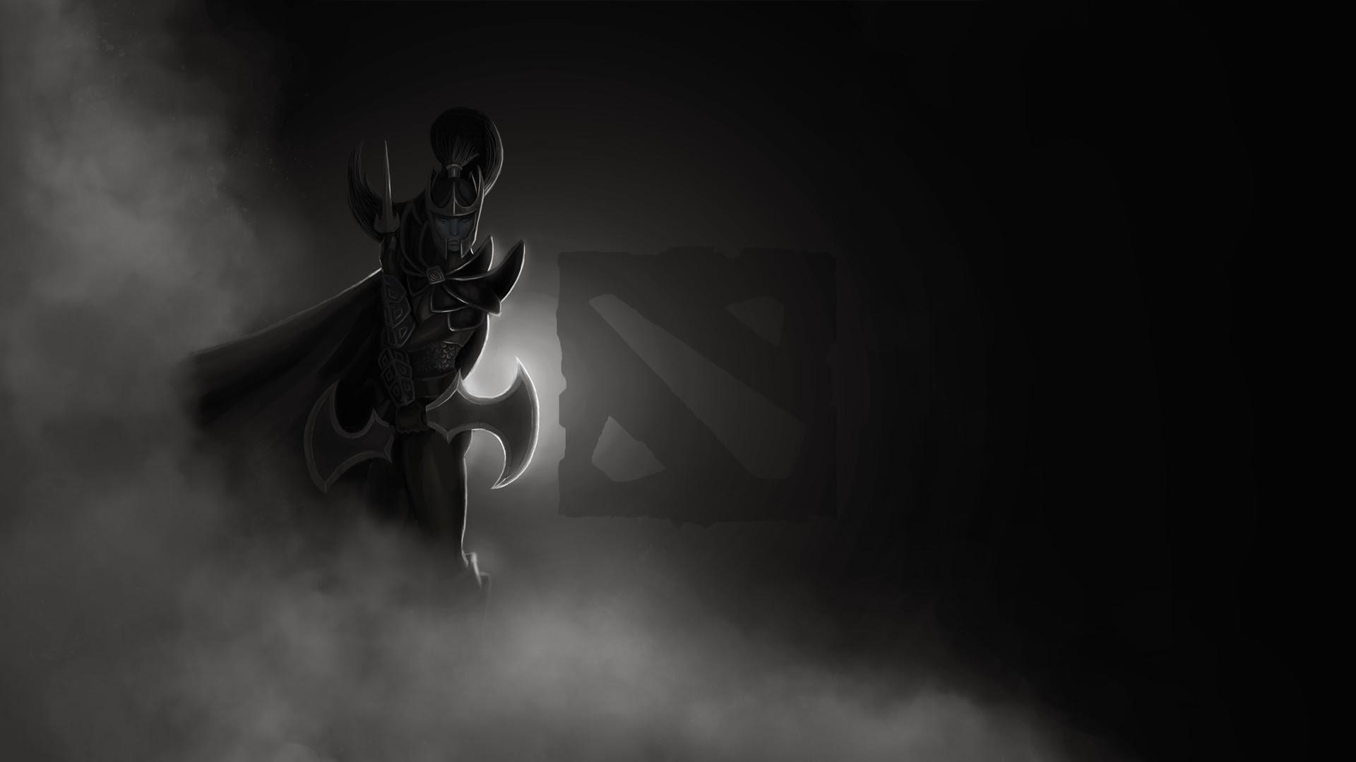 Mortred Phantom Assassin Dota 2 Logo 1y Wallpaper HD