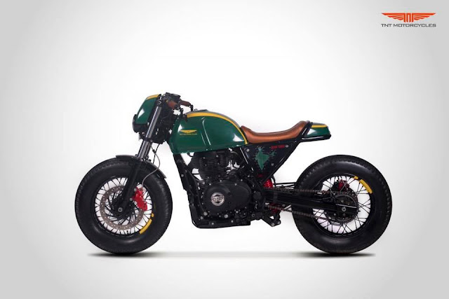 TNT Motorcycles Glory 411 - RE Himalayan Cafe Racer