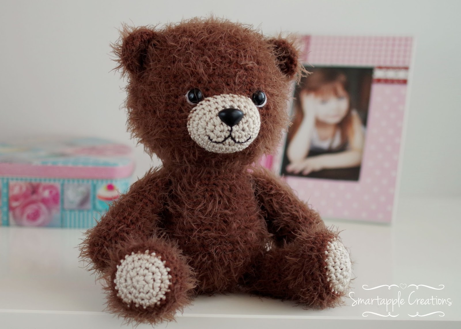 02264e3b41a I was so in love with the teddy bear myself so I fought the desire to keep  it to myself. It turned out so cuddly and soft and I was sure it ...