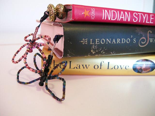 Butterfly Bookmark, DIY Bookmark, Butterfly, Bookmark Craft, Beaded Bookmark, Beaded Butterfly, book jewellery, bookmark jewellery