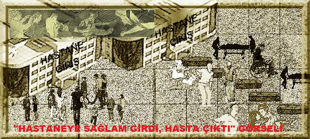 Türkiye'de gizlenen tıbbi hatalar nedeniyle,her yıl binlerce ölüm vakasının olabileceği ihtimali..