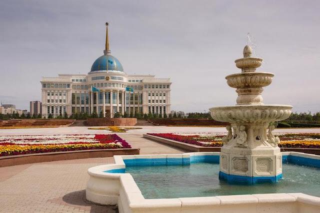 """""""آك أوردا"""" في """"أستانا"""" عاصمة """"كازاخستان"""""""