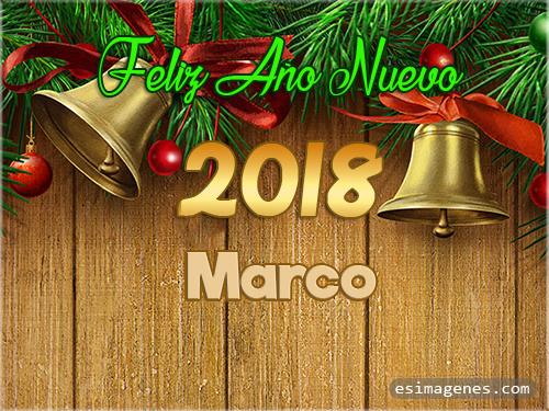 Feliz Año Nuevo 2018 Marco - Tarjetas con Nombres | GiFs Feliz ...