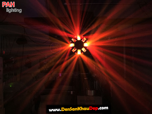 Hiệu ứng đèn led laser LELA cảnh 2