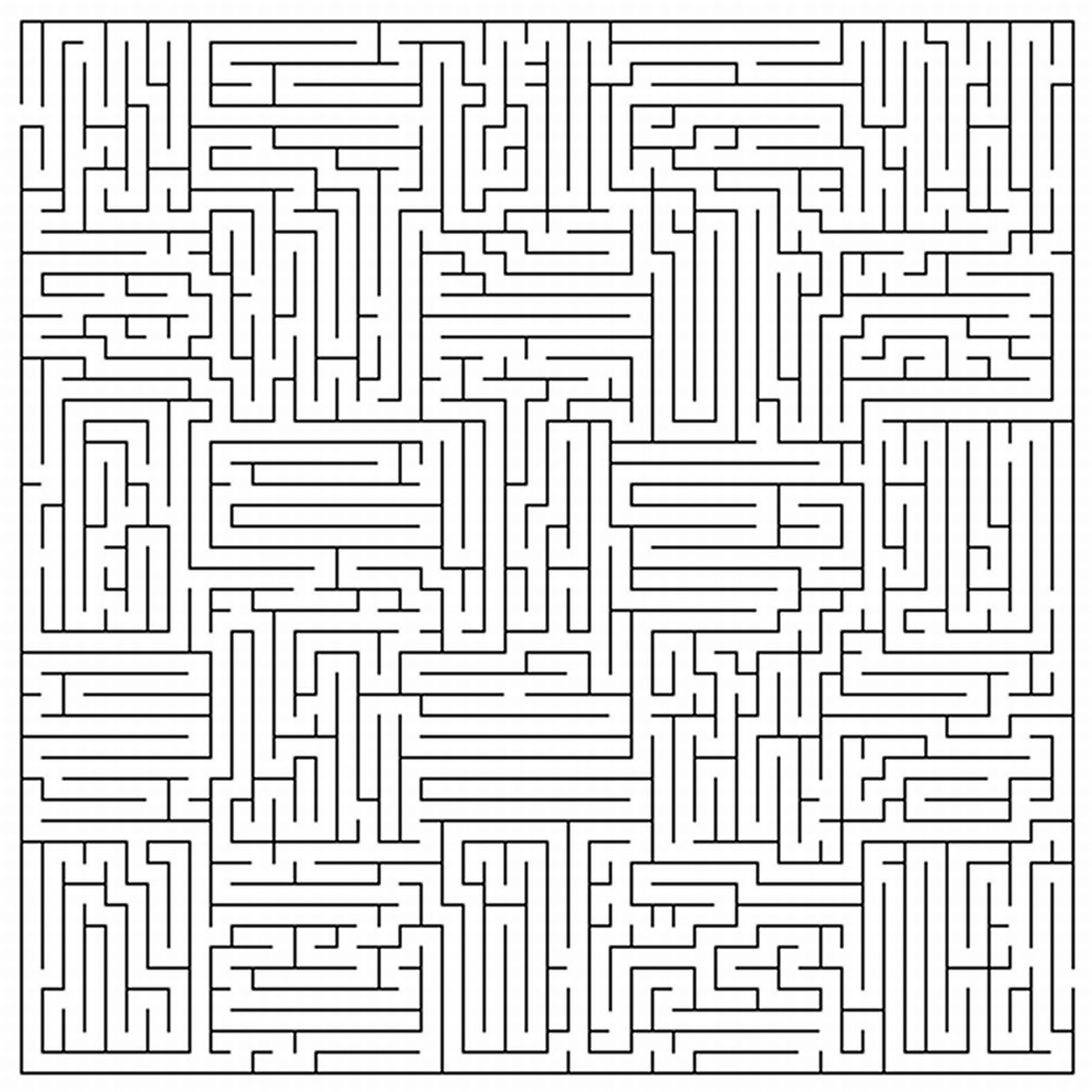 Photo Archive Printable Mazes For Adults