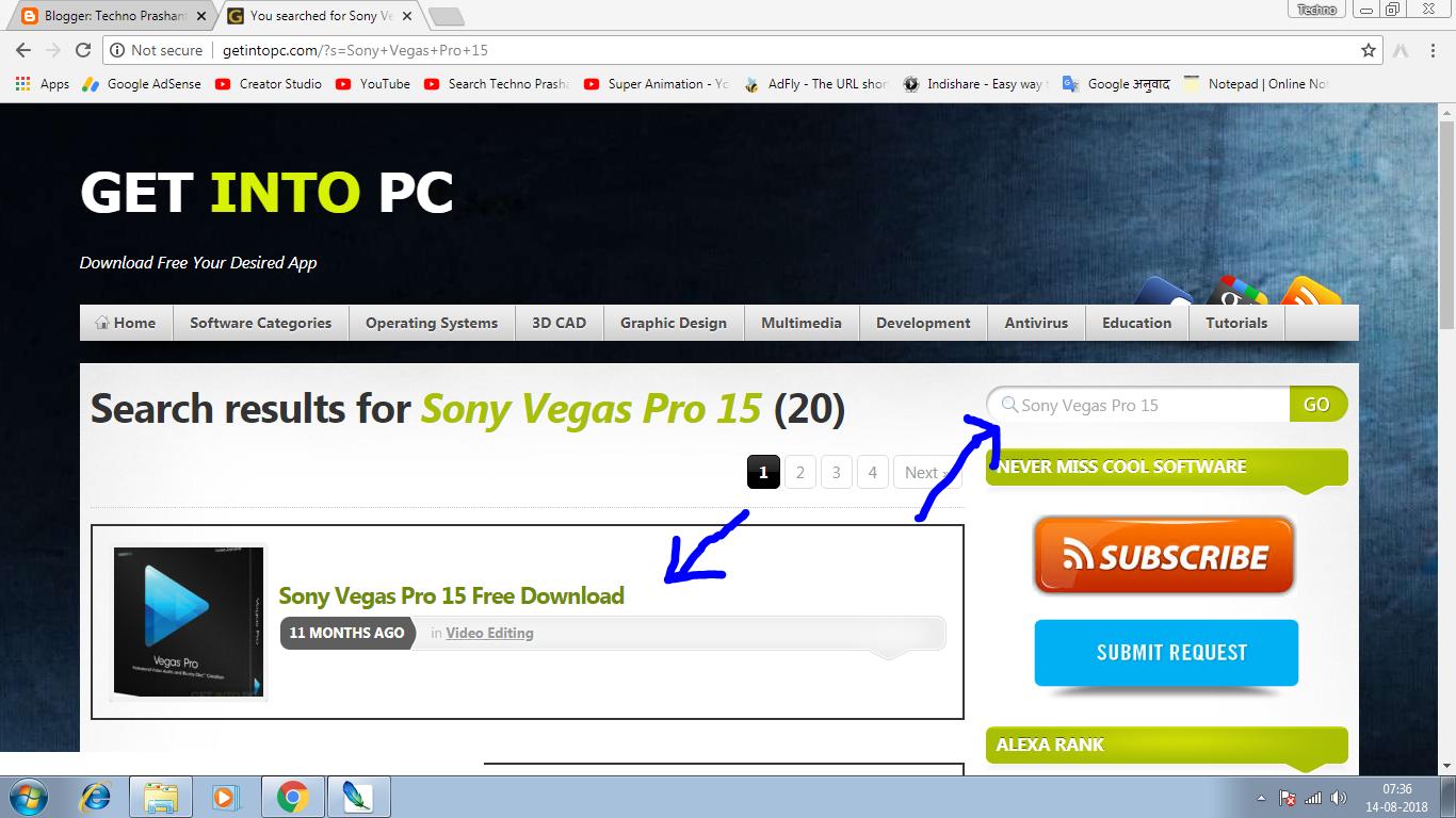 download sony vegas 10 free full version