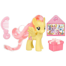 MLP Single Wave 1 Fluttershy Brushable Pony