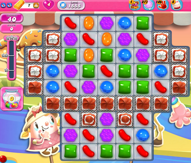Candy Crush Saga 1555