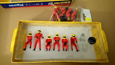 Figuras de mecánicos ScalextricTecnitoys