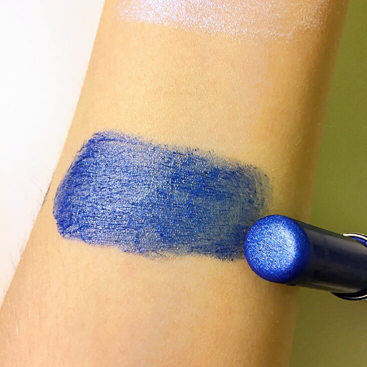 wet n wild Fantasy Makers megalast Lip Color Galaxy Blue swatch