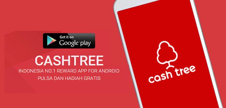 review cashtree si aplikasi penghasil pulsa di android