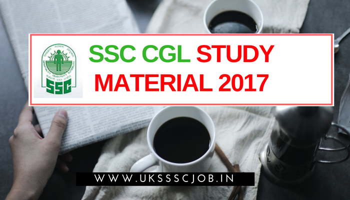 how to study for ssc cgl exam