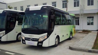 Bán xe khách Thaco 120S 47 chỗ tại Hải Phòng hỗ trợ trả góp