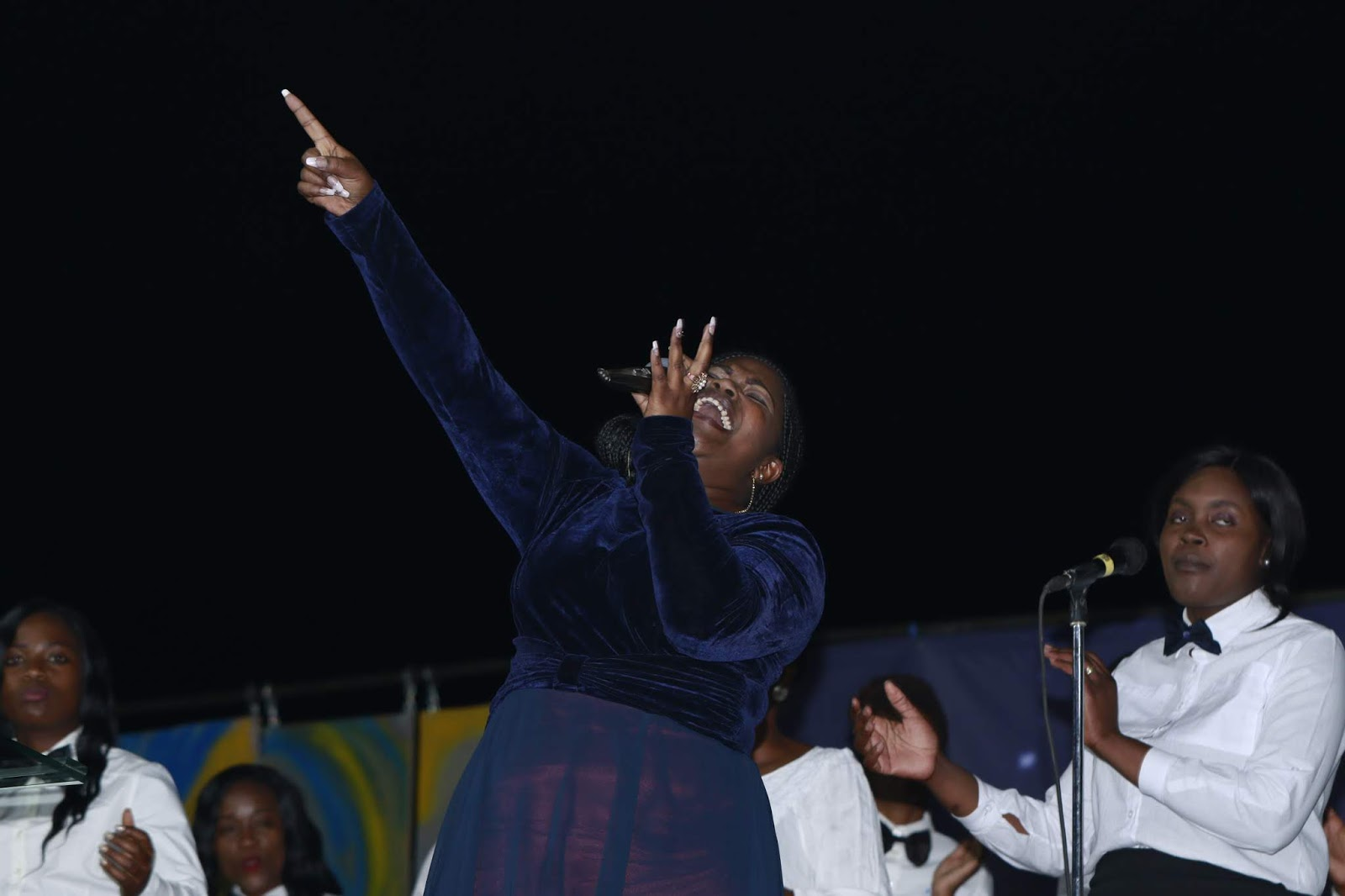 Gallery Of Pictures: Worship with Pastor Tasha At Tiyambuke Deliverance Night (Part 2)