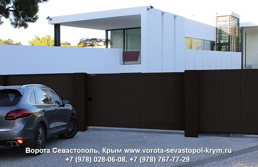 Откатные ворота Севастополь купить