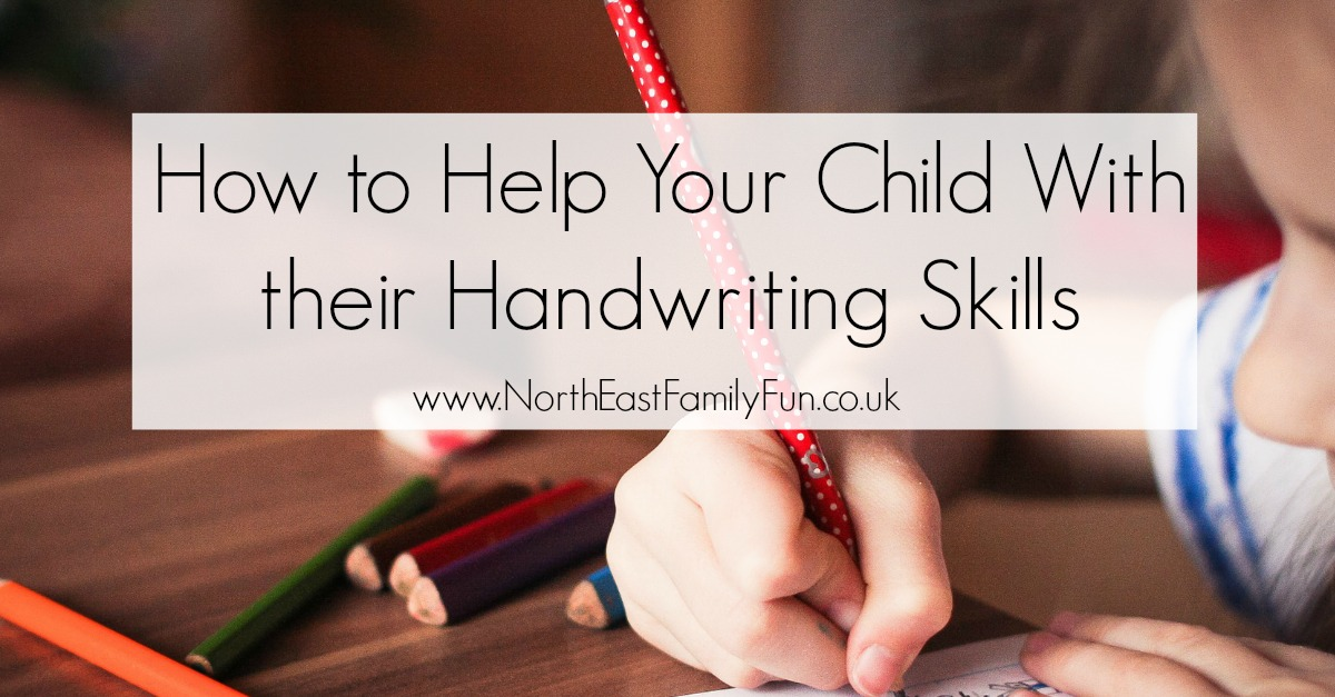 How to Help Your Child With their Handwriting Skills