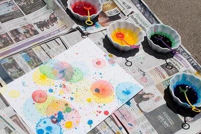 Actividades para Educación Infantil: TÉCNICAS PLÁSTICAS: pintamos ...