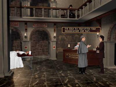 Videojuego Los archivos secretos Sherlock Holmes El caso de la Rosa Tatuada