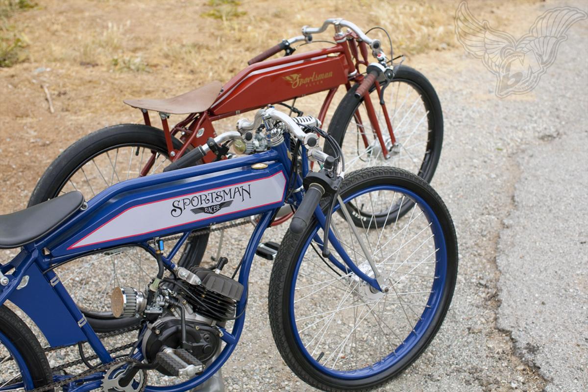 Motorized Bicycles Sportsman Flyer Company Bikermetric