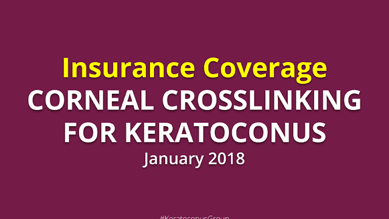 Insurance Coverage for Corneal Collagen Crosslinking (January 2018)