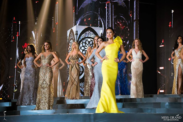Miss Grand International 2018 Evening Gown