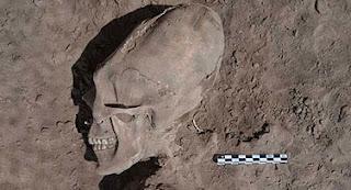 В Мексике нашли могильник с деформированными черепами