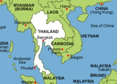 Gambar Negara Thailand Adalah Batas Negara Thailand Sebelah Barat Timur Utara Dan Selatan