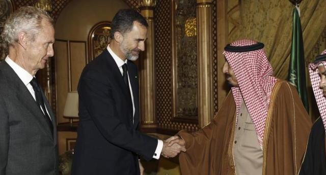 Visita del rey Felipe VI a Arabia Saudí