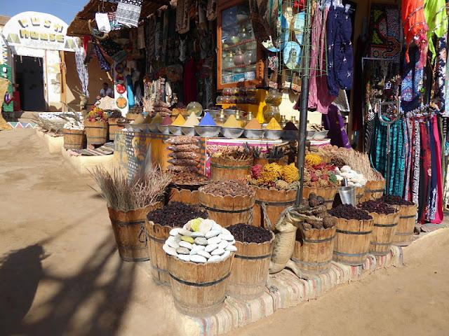 mercato nel villaggio nubiano