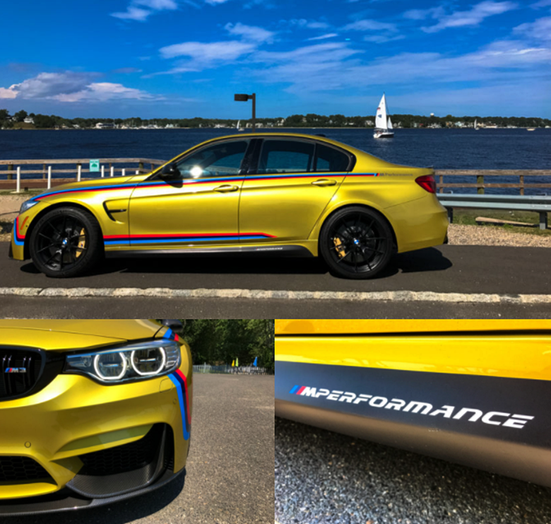 2017 BMW M3 Competition Package