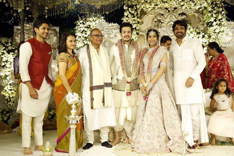 Tollywood Actor Akhil Akkineni Engagement Photos