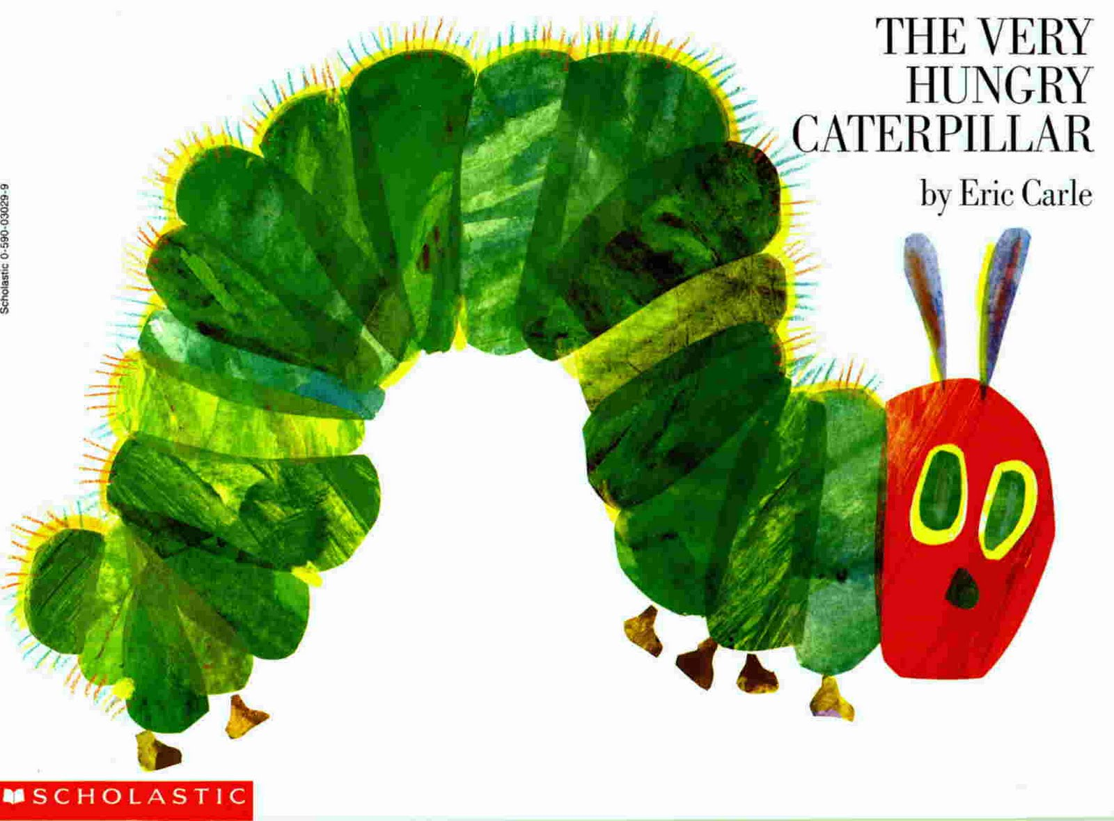 the very hungry caterpillar :Educational children english ... |Hungry Caterpillar Book