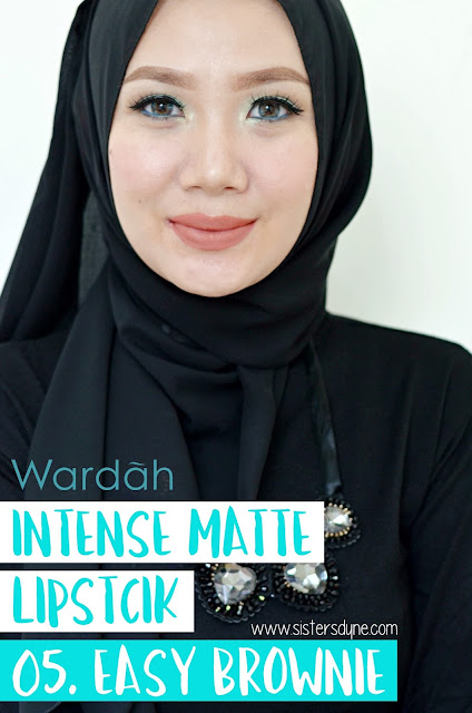 Wradah Intense Matte Lipstick Easy Brownie