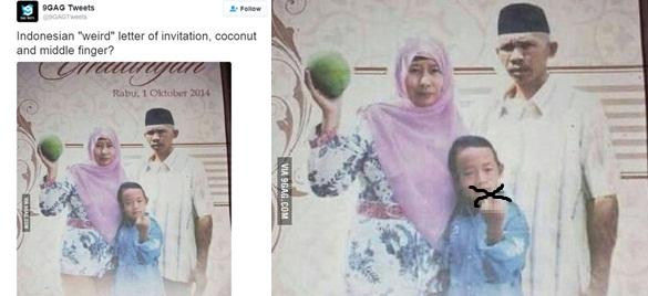 Inilah Undangan Sunatan Paling Heboh Di Indonesia Bikin Ngakak