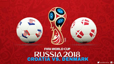 Live Streaming Croatia vs Denmark Piala Dunia 2.7.2018