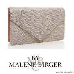 Crown Princess Victoria Style BY MALENE BİRGER Clutch Bag and FİLİPPA K. Dress