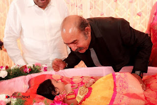 Rahul Actress Sridevi Vijaykumar Baby Rupikaa Naming Ceremony Pictures  0003.jpg