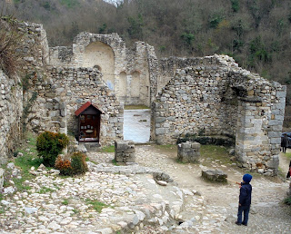 ο ναός της αγίας Βαρβάρας στο Μελένικο