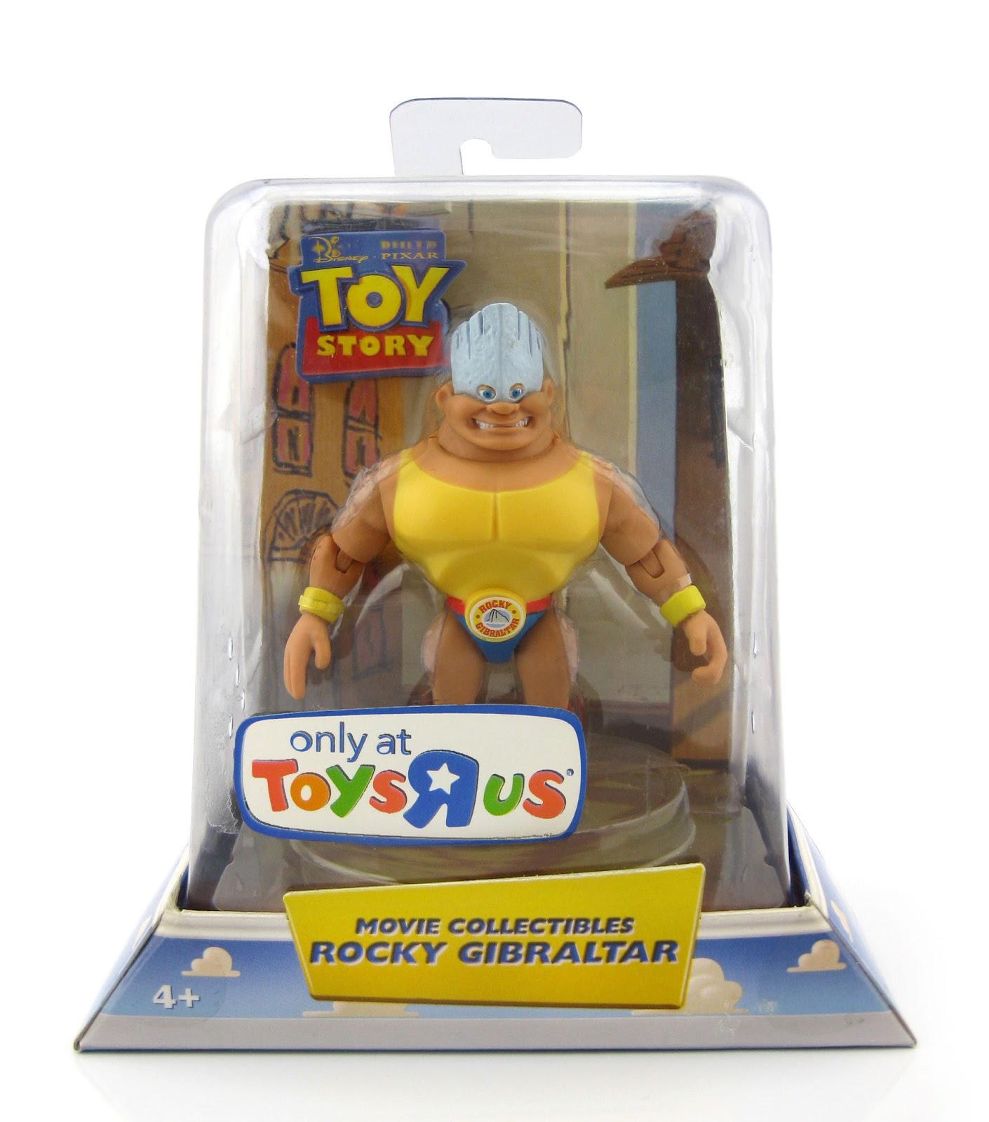 Dan The Pixar Fan Toy Story Rocky Gibraltar Movie Collectible Figure