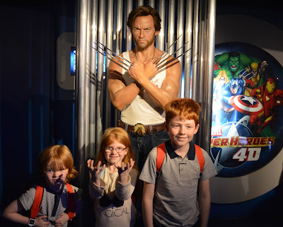 Madame Tussauds London including Star Wars,  A Review  - Marvel Wolverine